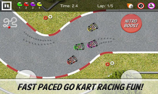 Go Kart Racing Game Image One